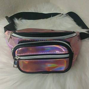 Shiny Barbie Pink Fanny Pack